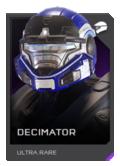 H5G REQ Helmets Decimator Ultra Rare