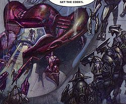 The ''Glorious Advance'', from the Halo Graphic Novel.