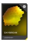 H5G REQ Visor Daybreak Legendary