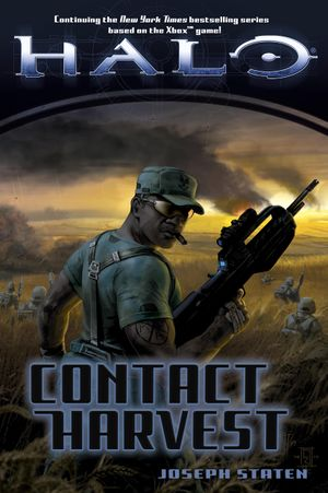The final cover for Halo: Contact Harvest.