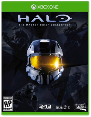 Halo: The Master Chief Collection provisional cover art.
