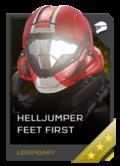 H5G REQ Helmets Helljumper Feet First Legendary