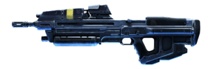MA40 assault rifle in Halo Infinite. 4K render cutout from File:HINF-MA40AR.png
