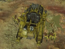 Recon Team Echo on the surface of Etran Harborage, as shown in Halo Wars level Anders' Signal.
