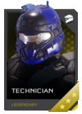 H5G REQ Helmets Technician Legendary