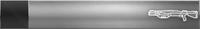 HTMCC Nameplate Silver Shotgun