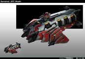 HW2-apc wraith 01 concept.png