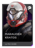 H5G REQ Helmets Marauder Kratos Ultra Rare