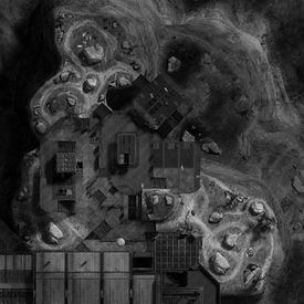 Heatmap of Halo: Reach map Holdout.