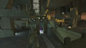 Colossus, a multiplayer map in Halo 2.