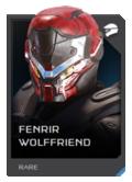 H5G REQ Helmets Fenrir Wolffriend Rare