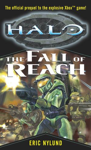 Alt original cover art for Halo: The Fall of Reach