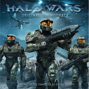 The Halo Wars: Soundtrack cover art.