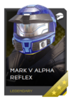 H5G REQ Helmets Mark V Alpha Reflex Legendary