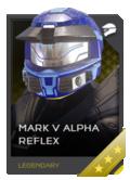 H5G REQ Helmets Mark V Alpha Reflex Legendary