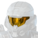 Vandal visor icon from the Halo Infinite Multiplayer Tech Preview.