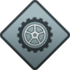 "Icon for the ""Vandalism"" Spartan Company Kill Commendation."