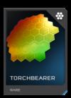 H5G REQ Visor Torchbearer Rare