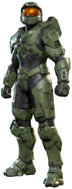 Image of Master Chief from the Halo Infinite reveal on the 23rd July.