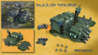 HW - Prerelease - UNSC Barracks with units.png