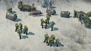 Tango 33 in Halo Wars.