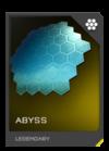 H5G REQ Visor Abyss Legendary
