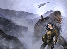 Full cover art of Halo: Retribution.