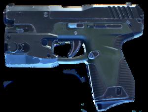 Cutout of the redesigned MK50 Sidekick.
