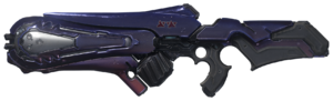 Render of the new Plasma Caster weapon from Halo 5: Guardians.