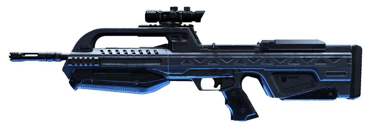 BR75 battle rifle - Weapon - Halopedia, the Halo wiki