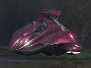 A Type-46 Spectre, as see in Halo 2: Anniversary.