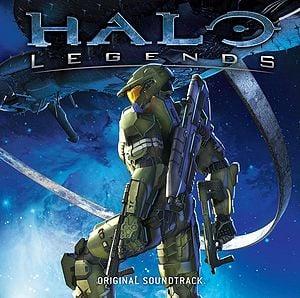 Album art for the Original Soundtrack of Halo: Legends.