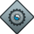 """Icon for the """"Scrapyard"""" Spartan Company Assist Commendation."""