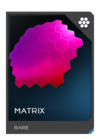 H5G REQ Visor Matrix Rare