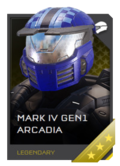 H5G REQ Helmets Mark IV GEN1 Arcadia Legendary