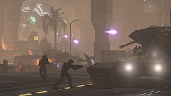 A large battle between UNSC and Covenant forces during the Battle of Mombasa.