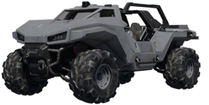 Transparent image of the Razorback from Halo Infinite.