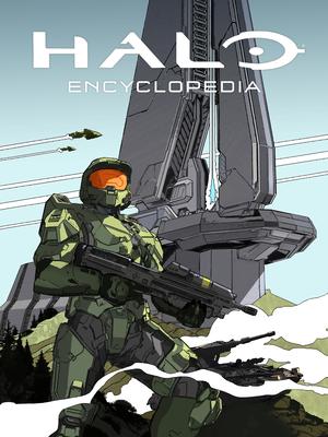 Halo Encyclopedia (2022 edition) cover art