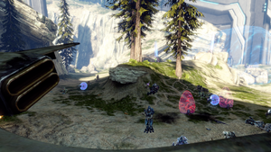 From Catherine/Spartan Mountain on the MCC version of Halo 4.