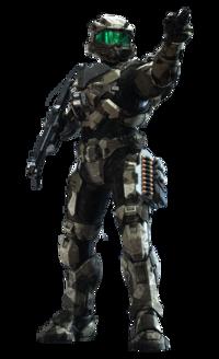 Splinter Desert armor coating in Halo Infinite
