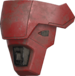 Image of the UA/AGATHIUS shoulder armor from OFFICIAL COSPLAY GUIDE: MARK VII.