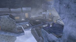 Lockout, a Halo 2 multiplayer map.