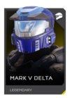 H5G REQ Helmets Mark V Delta Legendary
