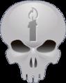 Halo 3 Grunt Birthday Party Skull.png