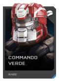 H5G REQ Helmets Commando Verde Rare