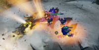 HW2 Terror Chopper attacking Yapyaps Brutes.png