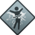 "Icon for the ""Lawnmower"" Spartan Company Kill Commendation."